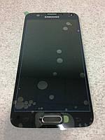 Дисплей модуль SAMSUNG Galaxy S5 G900F BLACK GH97-15959B черный оригинал