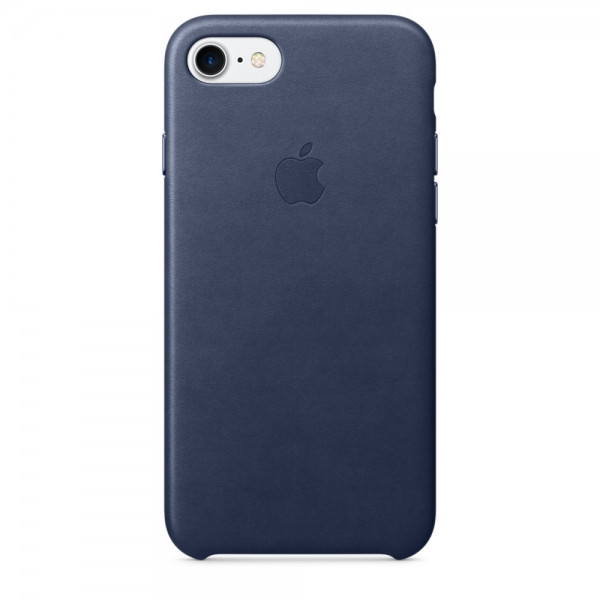 Apple iPhone 7 Leather Case Midnight Blue(MMY32)