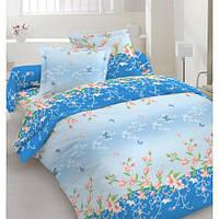Постельное белье Голубая лагуна, бязь (комплект семейный)