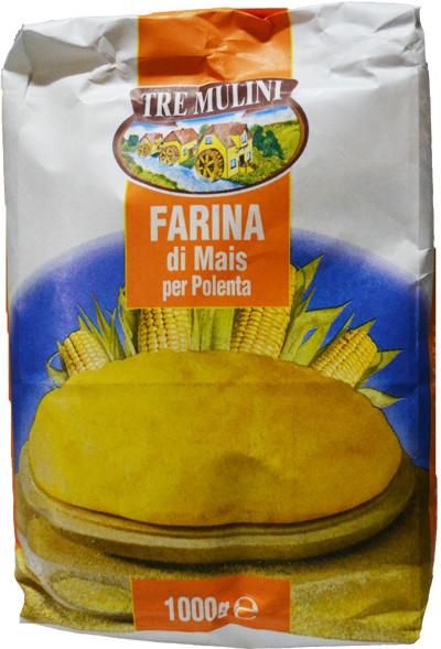 Кукурузная мука Farina di Mais Tre Mulini, 1 кг.