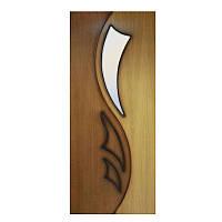 Двери межкомнатные Лилия 2 полотно остекленное