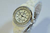 Женские часы CHANEL J12 керамика Японский мех