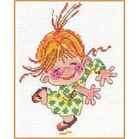 """Набор для вышивки крестом """"Алиса"""" Клара 0-15"""
