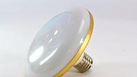 Лампочка плоская круглая LED LAMP E27 18W, светодиодная лампочка, фото 1