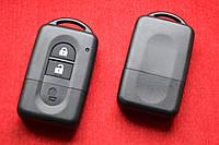 Nissan note, tiida, micra корпус ключа смарт 2 кнопки