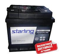 Аккумулятор Starting 55A 540A R+ 207*175*190