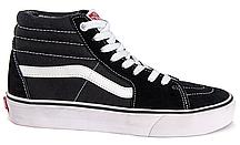 Кеды женские Vans Sk8 (black/white) - 86w