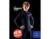Термобелье детское спортивное Virmax Sport, детский комплект термобелья унисекс (шапка в подарок)