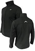 Спортивная куртка с мембраной и отражателями Radical Crag, с виндстоппером, черная