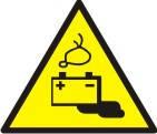 "Знак ""Обережно! Акумуляторні батареї"""