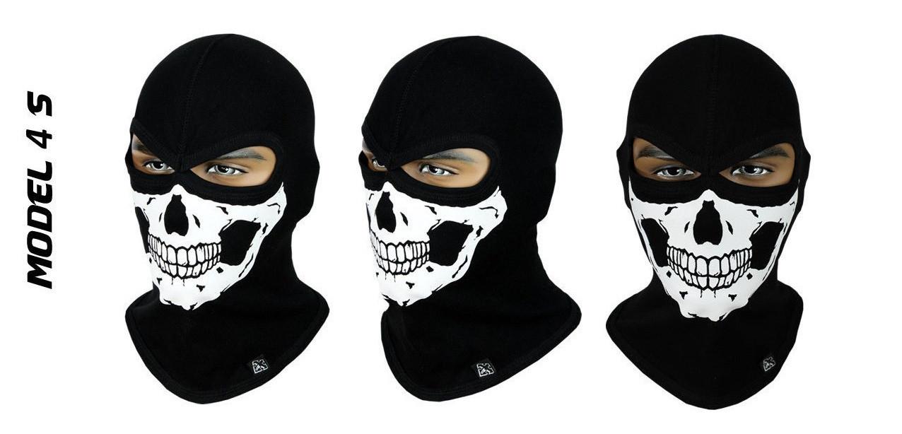 Балаклава с черепом, маска подшлемник Radical Skull S4 (Польша)