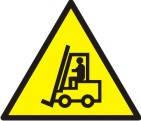 """Знак """"Обережно! Автонавантажувач"""""""
