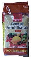 Кукурузная крупа среднего помола Polenta Bramata, 1 кг.