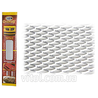 Решетка декоративная CarmoS 100*20см silver 2