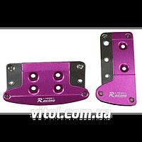 Накладки на педали автомат XB-352 Pink/SL