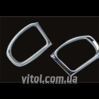 Накладка хром Mercedes  W211 (03~on) рамка зеркала