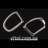 Накладка хром Mercedes  W220 (92~on) рамка зеркала