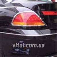 Накладка хром BMW 7-E65 задние фонари