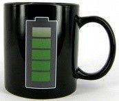 Кружка чашка Батарейка