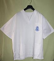 Рубашка медецинская с логотипом - XXL