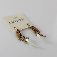 Модные женские длинные серьги сережки от Forever 21, фото 1