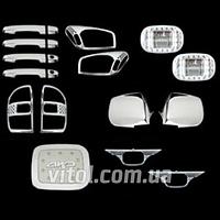 Набор декор. накладок Toyota RAV4 01' (17 ед)