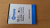 NOMI i500 Sprint  аккумулятор NB-51  1800 mAh оригинал