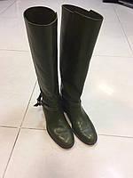 Сапоги зеленые в жокейском стиле Fratelli Rossetti