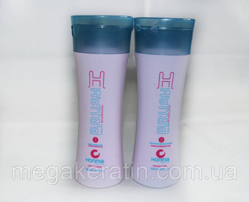 H-Brush Botox Capilar (Ботокс для волос) Honma Tokyo набор 2х150мл