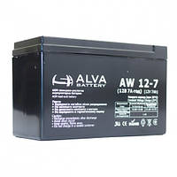 Аккумуляторная батарея,(12V7AH).Модель-AW12-7