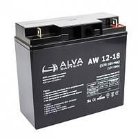 Аккумуляторная батарея,(12V18AH).Модель-AW12-18