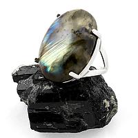 Лабрадор, серебро 925, кольцо, 183КЛ