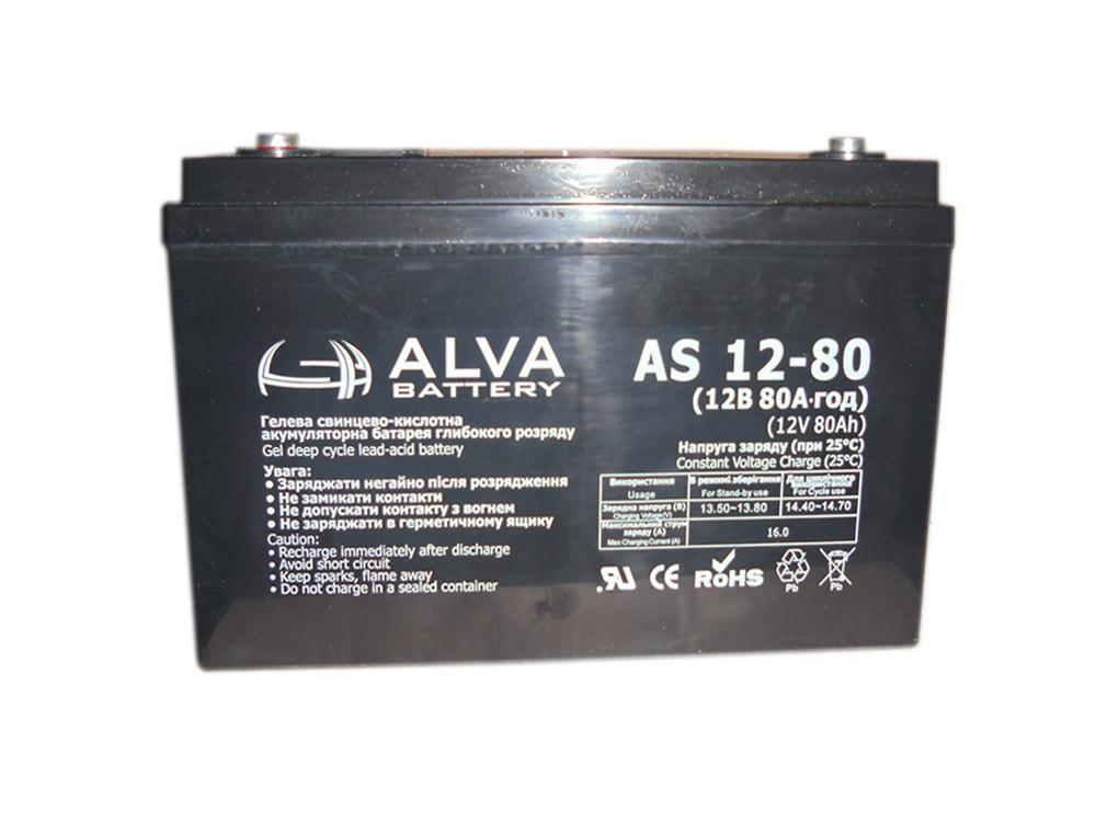 Аккумуляторная батарея,(12V80AH).Модель-AS12-80
