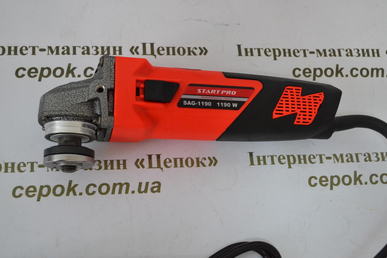 Кутова шліфмашина Start Pro SAG-125/1190, фото 1