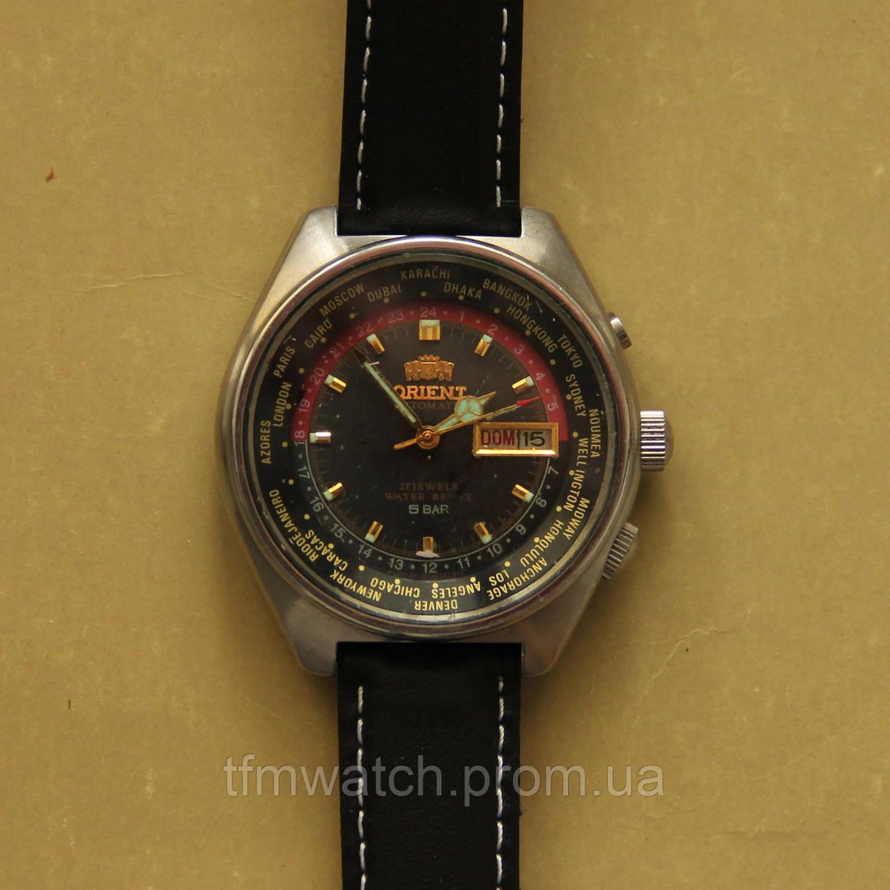 Orient механические часы автоподзавод два календаря - Магазин старинных,  винтажных и антикварных часов TFMwatch в d4149a03347