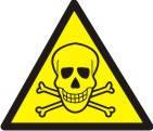 """Знак """"Обережно! Ядовиті речовини"""""""