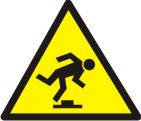 """Знак """"Обережно! Малозамітна перешкода"""""""