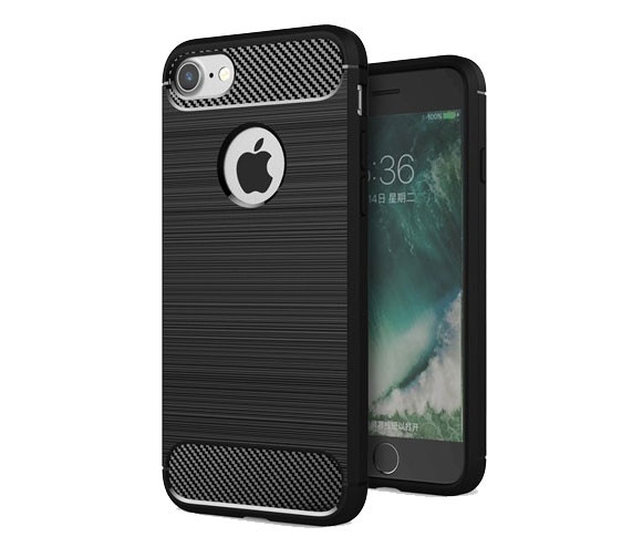 Противоударный бампер Primo Carbon Fiber Series для Apple iPhone 6 Plu
