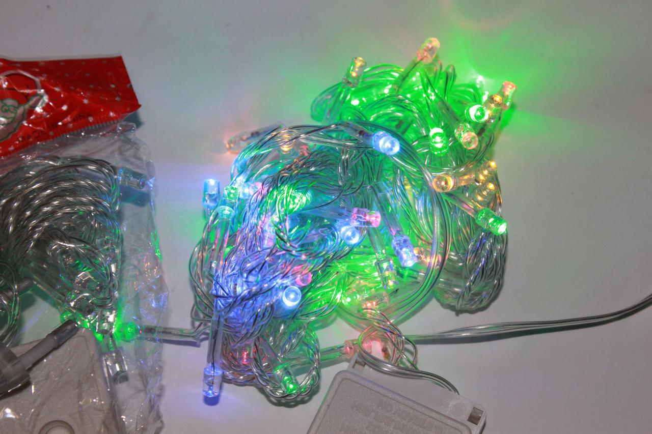 Гирлянда LED 60 диодов Мульти