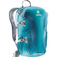 Голубой спортивный рюкзак 20 л. для альпинизма Speed Lite 20 DEUTER , 33121 3325