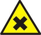 """Знак """"Обережно! Шкідливі або подразнюючі речовини"""""""