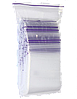 Пакеты с замком зиплок  7см х 10см (50шт)