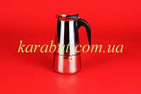 Кофеварка гейзерная на девять чашек_V0,550л.