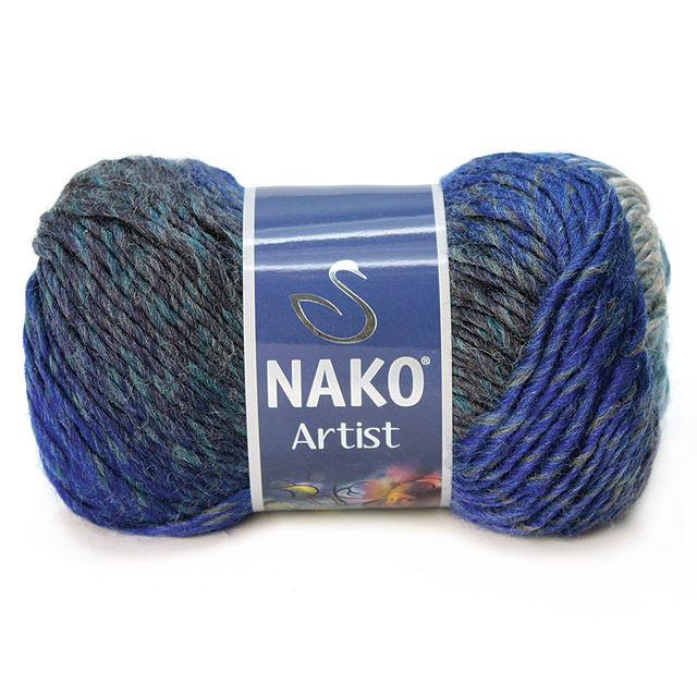 Турецька пряжа для в'язання Nako Artist. Перехідна