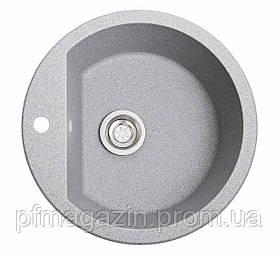 Мойка кухонная Solid Раунд, серый (ДхГ - 510х180)