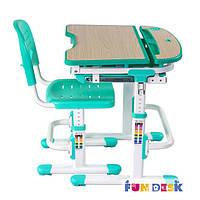 Комплект парта- трансформер и стул Sorriso Green