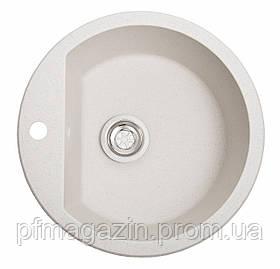 Мойка кухонная Solid Раунд, белый (ДхГ - 510х180)