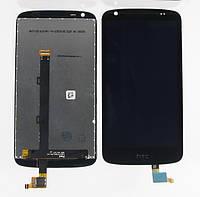 Дисплей для HTC 526G Desire Dual Sim + touchscreen, чёрный