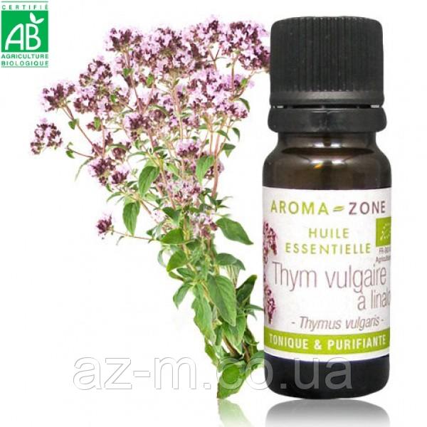 Тимьян линалоольный (Thymus vulgaris) BIO эфирное масло