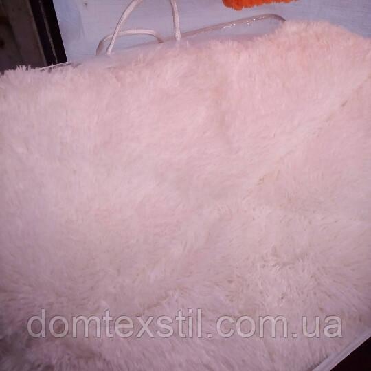 Одеяло теплое мишка,молочного цвета ,евро размер